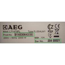 AEG, AEG-Electrolux, Electrolux, Zanussi prietaiso detalė (kiti atvejai)